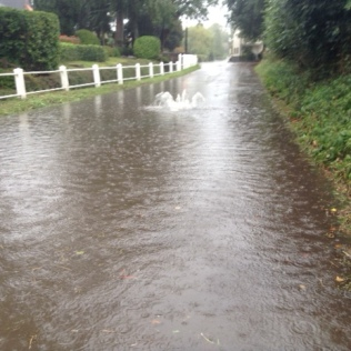 October 1st 2019 - Low Road Flooding
